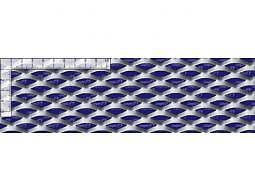 Streckmetall Aluminium TSM 28x14x5 / 1,5x1250x2500mm
